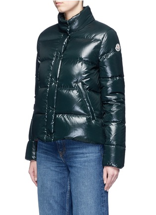 Front View - Click To Enlarge - MONCLER - 'Brethil' padded down jacket