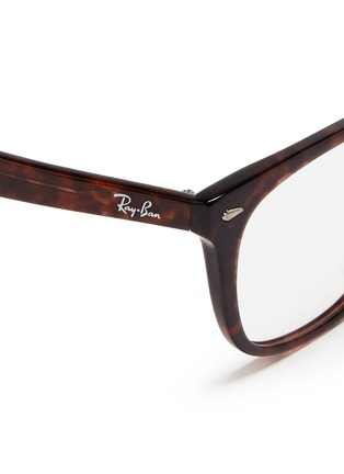 Detail View - Click To Enlarge - Ray-Ban - 'RX5305' tortoiseshell square optical glasses