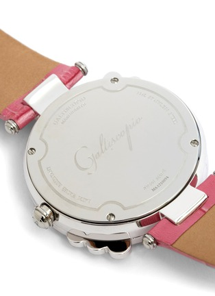 Detail View - Click To Enlarge - Galtiscopio - 'Marguerite' crystal dial watch