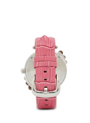 Back View - Click To Enlarge - Galtiscopio - 'Marguerite' crystal dial watch