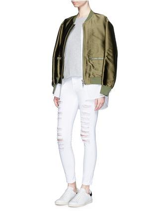 Frame Denim   \'Le Skinny de Jeanne\' ripped jeans   Women   Lane Crawford