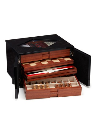 Main View - Click To Enlarge - Agresti - Ebony wood multi game box