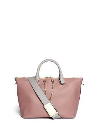 Main View - Click To Enlarge - CHLOÉ - 'Baylee' small leather tote