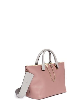 Figure View - Click To Enlarge - CHLOÉ - 'Baylee' small leather tote