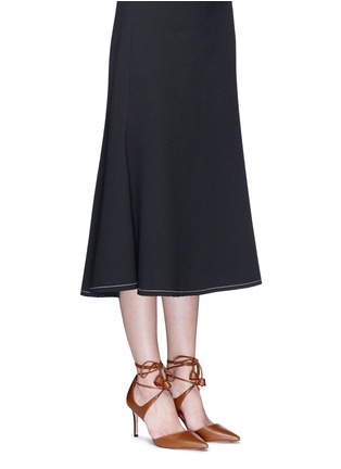 Figure View - Click To Enlarge - Coach - 'Shae' leather lace-up d'Orsay pumps