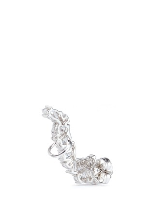 Detail View - Click To Enlarge - CZ by Kenneth Jay Lane - Cubic zirconia stud and climber earrings set