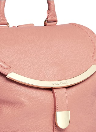 Detail View - Click To Enlarge - See by Chloé - 'Lizzie' leather backpack