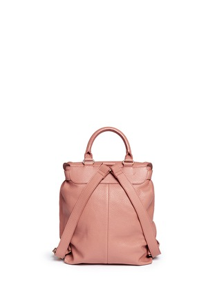 Back View - Click To Enlarge - See by Chloé - 'Lizzie' leather backpack