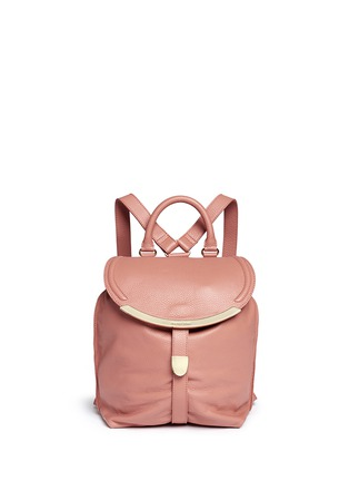 Main View - Click To Enlarge - See by Chloé - 'Lizzie' leather backpack