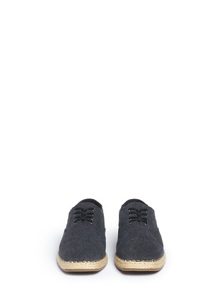 Front View - Click To Enlarge - 90294 - 'Camino' canvas espadrille sneakers