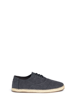 Main View - Click To Enlarge - 90294 - 'Camino' canvas espadrille sneakers
