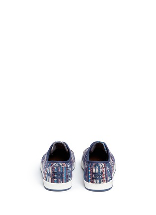 Back View - Click To Enlarge - 90294 - 'Paseo' tribal woven sneakers
