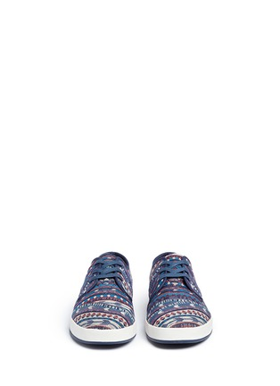 Front View - Click To Enlarge - 90294 - 'Paseo' tribal woven sneakers