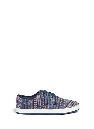 Main View - Click To Enlarge - 90294 - 'Paseo' tribal woven sneakers