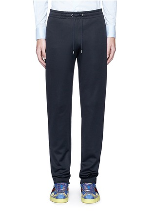 Main View - Click To Enlarge - Gucci - Bee embroidery pocket track pants