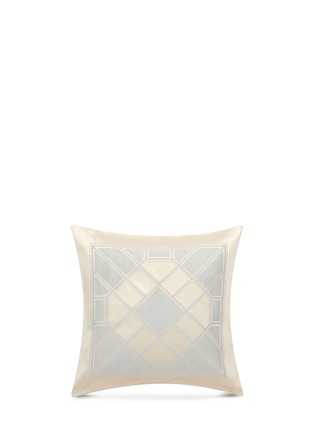 Main View - Click To Enlarge - Frette - Luxury Labyrinth cushion