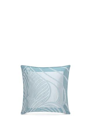 Main View - Click To Enlarge - Frette - Luxury Palmette cushion