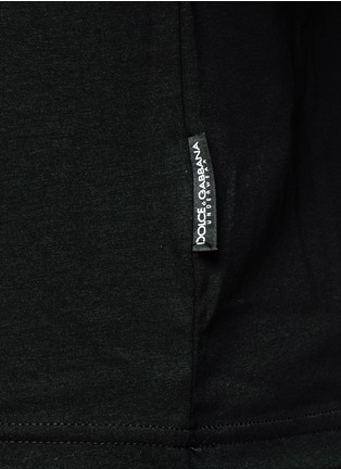 Detail View - Click To Enlarge - Dolce & Gabbana - Crew neck jersey undershirt