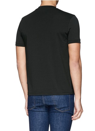 Back View - Click To Enlarge - Dolce & Gabbana - Crew neck jersey undershirt