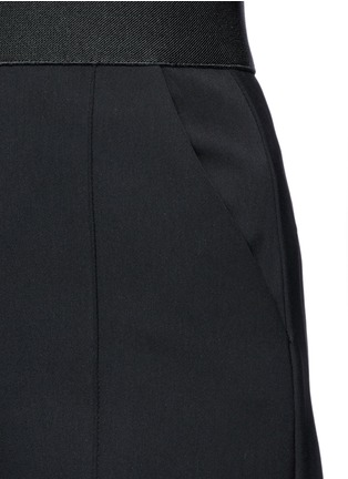 Detail View - Click To Enlarge - self-portrait - 'Natasha' pintuck seam culottes