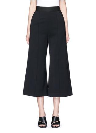 Main View - Click To Enlarge - SELF-PORTRAIT - 'Natasha' pintuck seam culottes