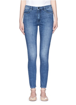 Detail View - Click To Enlarge - VICTORIA, VICTORIA BECKHAM - Cotton blend washed jeans
