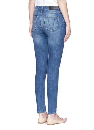 Back View - Click To Enlarge - VICTORIA, VICTORIA BECKHAM - Cotton blend washed jeans
