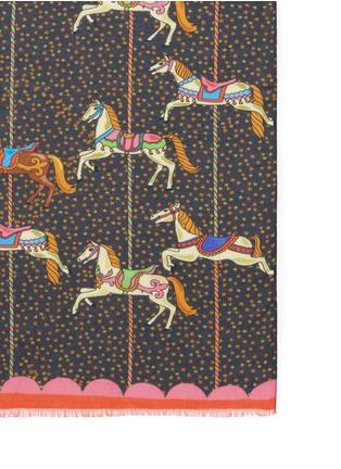 Detail View - Click To Enlarge - Karen Mabon - 'Carousel' modal-cashmere scarf