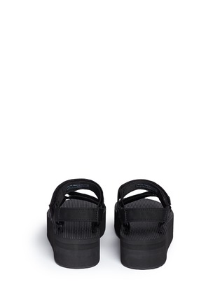 Back View - Click To Enlarge - Teva - x HonestlyWTF 'Flatform Universal' DIY sandals