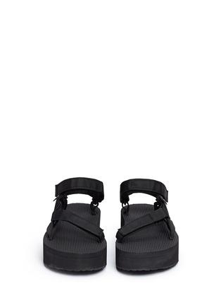 Front View - Click To Enlarge - Teva - x HonestlyWTF 'Flatform Universal' DIY sandals