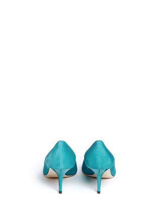 Back View - Click To Enlarge - JIMMY CHOO - 'Aurora' suede pumps
