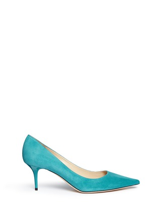 Main View - Click To Enlarge - JIMMY CHOO - 'Aurora' suede pumps