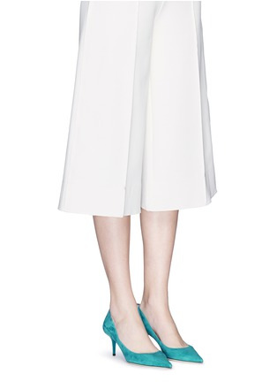 Figure View - Click To Enlarge - JIMMY CHOO - 'Aurora' suede pumps