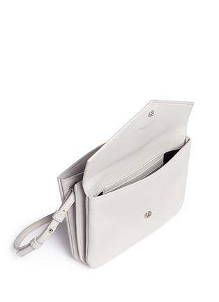 Detail View - Click To Enlarge - SAINT LAURENT - 'YSL Tri-Pocket' leather bag