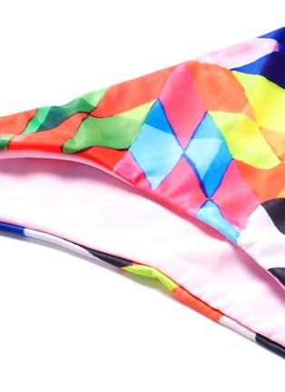 Detail View - Click To Enlarge - Mara Hoffman - Optical graphic low rise bikini bottoms