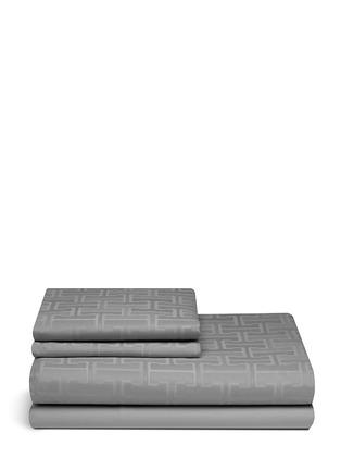 Main View - Click To Enlarge - Frette - Labyrinth king size duvet set