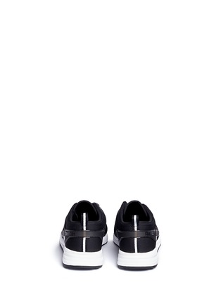 Back View - Click To Enlarge - Reebok - 'Ventilator Adapt' neoprene sneakers