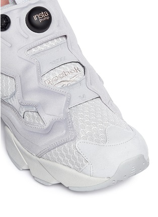 Detail View - Click To Enlarge - Reebok - Insta Pump Fury CLSHX' slip-on sneakers