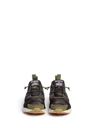 Front View - Click To Enlarge - Reebok - 'Furylite Cloud Pack' camouflage print sneakers