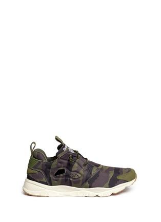 Main View - Click To Enlarge - Reebok - 'Furylite Cloud Pack' camouflage print sneakers