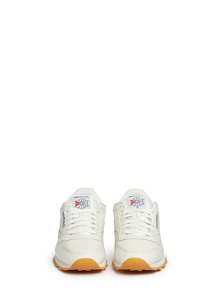 Front View - Click To Enlarge - Reebok - 'Classic Leather Vintage' sneakers