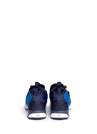 Back View - Click To Enlarge - Reebok - 'Insta Pump Fury' slip-on sneakers