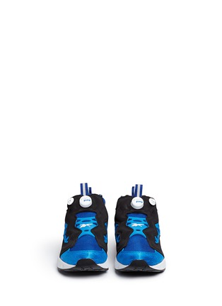 Front View - Click To Enlarge - Reebok - 'InstaPump Fury Road' slip-on sneakers