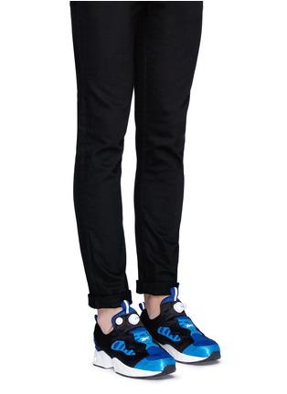 Figure View - Click To Enlarge - Reebok - 'InstaPump Fury Road' slip-on sneakers