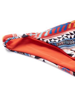 Detail View - Click To Enlarge - Mara Hoffman - 'Pinwheel' print double spaghetti side bikini bottom