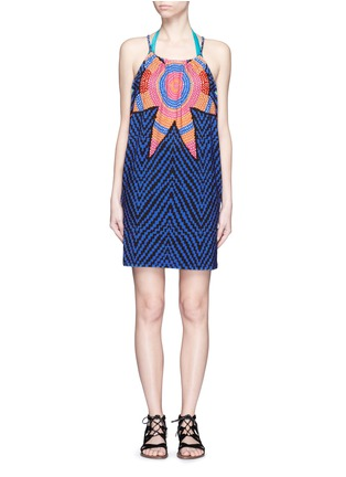 Main View - Click To Enlarge - Mara Hoffman - 'Starbasket' print cover-up mini dress