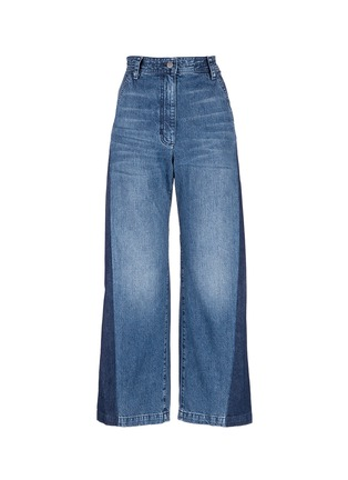 Main View - Click To Enlarge - Rachel Comey - 'Bishop' contrast panel flare jeans