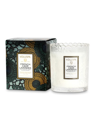 - VOLUSPA - Japonica French Cade & Lavender scented candle 176g
