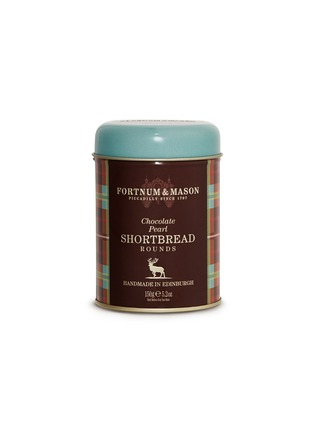 Main View - Click To Enlarge - FORTNUM & MASON - Chocolate pearl shortbread tin