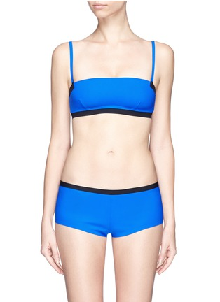 Main View - Click To Enlarge - T By Alexander Wang - Reversible bonded tricot bandeau